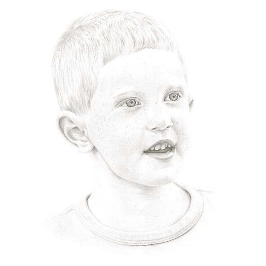 Pencil portrait of Jack